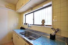 キッチンの様子。(2011-09-13,共用部,KITCHEN,1F)