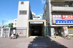 各線・千川駅の様子。(2011-09-13,共用部,ENVIRONMENT,1F)