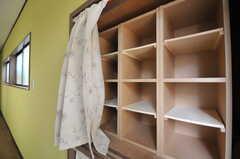 靴箱の様子。(2012-12-21,周辺環境,ENTRANCE,1F)
