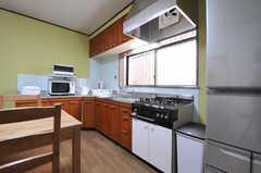 キッチンの様子。(2012-12-21,共用部,KITCHEN,1F)