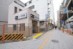 都営三田線・板橋本町駅の様子。(2012-12-21,共用部,ENVIRONMENT,1F)