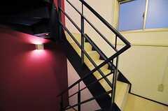 階段の様子。(2014-03-05,共用部,OTHER,2F)