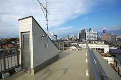 屋上の様子。(2008-11-05,共用部,OTHER,5F)
