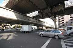都営三田線・板橋本町駅前の道路。(2008-11-05,共用部,ENVIRONMENT,1F)