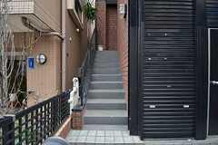 階段の様子。(2015-01-29,共用部,OTHER,1F)