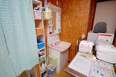 洗面台の様子。(2008-11-18,共用部,TOILET,1F)