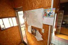 コミュニケーション・ボードの様子。(2008-11-18,共用部,OTHER,1F)