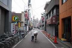 東武東上線上板橋駅近くの商店街の様子。(2008-11-24,共用部,ENVIRONMENT,1F)