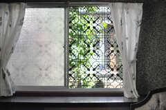 窓からの景色。(101号室)(2013-05-26,専有部,ROOM,1F)