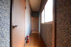 廊下の様子。(2013-05-26,共用部,OTHER,2F)