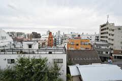 屋上からの景色。(2017-10-24,共用部,OTHER,5F)