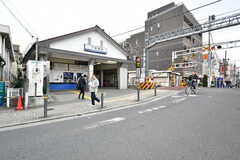 西武池袋線・下板橋駅の様子。(2017-10-24,共用部,ENVIRONMENT,1F)