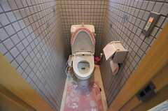 トイレの様子。(Fine)(2012-07-17,共用部,TOILET,2F)