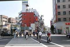 都営三田線・板橋区役所前駅の様子。(2011-08-12,共用部,ENVIRONMENT,1F)
