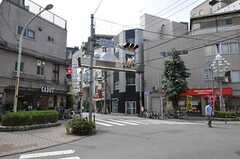 シェアハウスの近くにある中山道板橋仲宿商店街の様子。(2011-08-12,共用部,ENVIRONMENT,1F)