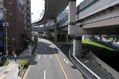 歩道橋から見た様子。(2011-08-12,共用部,ENVIRONMENT,1F)
