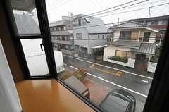 出窓から見た外の景色。(204号室)(2014-03-05,専有部,ROOM,2F)