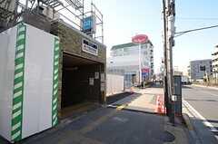 東京メトロ・地下鉄赤塚駅の様子。(2016-03-03,共用部,ENVIRONMENT,1F)