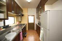 シェアハウスのキッチンの様子。(2008-11-05,共用部,KITCHEN,2F)