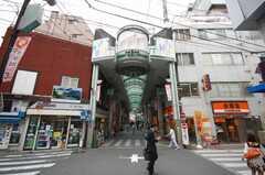 東武東上線大山駅前のハッピーロード商店街。(2008-05-28,共用部,ENVIRONMENT,1F)