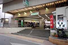 東武東上線大山駅の様子。(2008-05-28,共用部,ENVIRONMENT,1F)