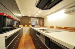 シェアハウスのキッチンの様子。(2011-03-25,共用部,KITCHEN,1F)