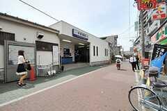 東武東上線・中板橋駅の様子。(2014-05-20,共用部,ENVIRONMENT,1F)