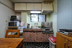 キッチンの様子。(2018-03-16,共用部,KITCHEN,2F)
