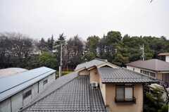 専有部の様子5。窓からの景色。(312号室)(2009-02-25,共用部,OTHER,3F)