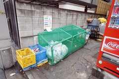 ゴミ置場の様子。(2009-02-25,共用部,OTHER,1F)