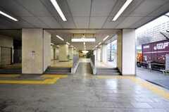 都営三田線新高島平駅の様子。(2009-02-25,共用部,ENVIRONMENT,1F)
