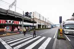 都営三田線新高島平駅前の様子。(2009-02-25,共用部,ENVIRONMENT,1F)