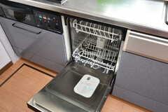 食器洗浄機が備わっています。(2019-06-06,共用部,KITCHEN,2F)