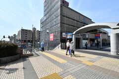 東武東上線・成増駅前の様子。(2019-06-06,共用部,ENVIRONMENT,1F)