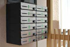 部屋ごとに設けられた郵便受け。(2021-03-17,周辺環境,ENTRANCE,1F)
