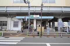 都営三田線・蓮根駅の様子。(2016-02-25,共用部,ENVIRONMENT,1F)