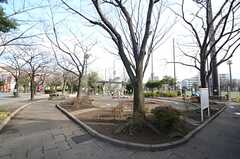住宅近くの公園2。(2016-02-25,共用部,ENVIRONMENT,1F)