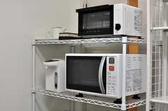 キッチン家電の様子。(2012-07-09,共用部,KITCHEN,1F)
