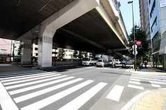 環七通りの様子。(2012-07-09,共用部,ENVIRONMENT,1F)