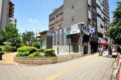 都営地下鉄三田線・板橋本町駅の様子。(2012-07-09,共用部,ENVIRONMENT,1F)