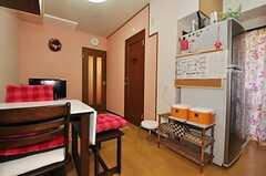 シェアハウスのリビングの様子。(504号室)(2010-10-12,共用部,LIVINGROOM,4F)