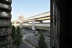 窓の外の景色。(5041号室)(2010-10-12,専有部,ROOM,5F)