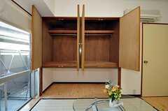収納の様子。(5042号室)(2010-10-12,専有部,ROOM,5F)
