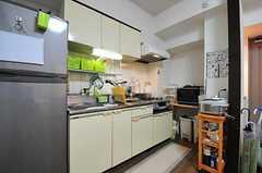 キッチンの様子。(302号室)(2012-06-26,共用部,KITCHEN,3F)