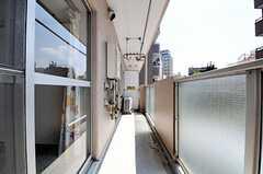ベランダの様子。(3022号室)(2012-06-26,専有部,ROOM,3F)