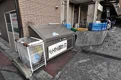 マンションのゴミ置き場2。(2012-06-26,共用部,OTHER,1F)
