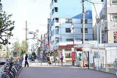 各線・千川駅周辺の様子。(2019-04-23,共用部,ENVIRONMENT,1F)