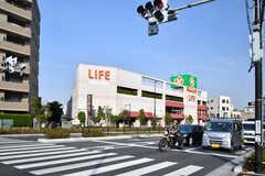 各線・千川駅周辺の様子2。(2019-04-23,共用部,ENVIRONMENT,1F)