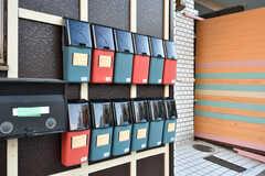 ポストは部屋ごとに用意されています。(2018-12-26,周辺環境,ENTRANCE,1F)