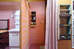 脱衣室の様子。(2018-12-26,共用部,BATH,-1F)